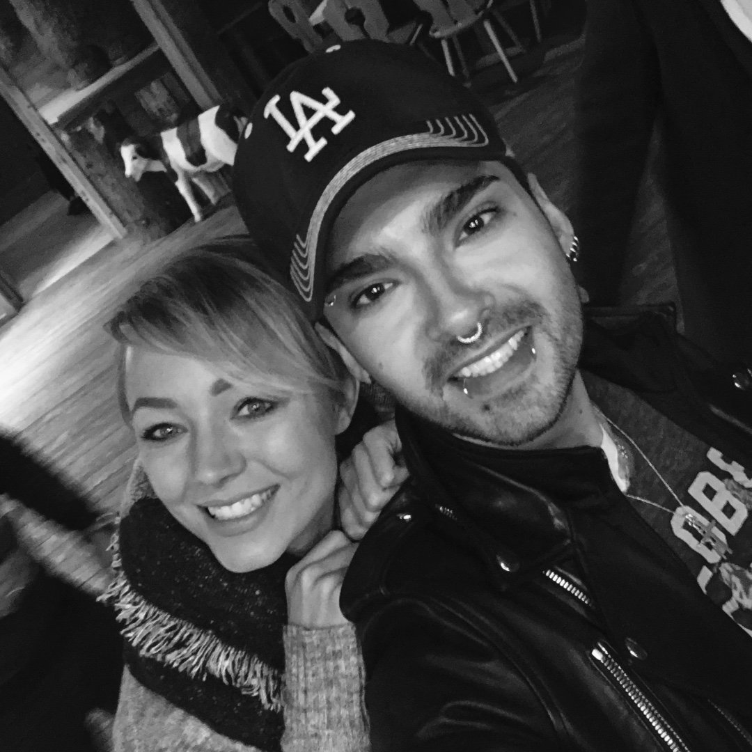 New pics bill and tom kaulitz with fans in allg u for Tokio hotel
