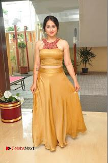 Actress Simrat Juneja Pictures in Golden Long Dress  0071