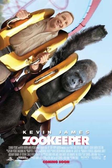 Poster película Zookeeper