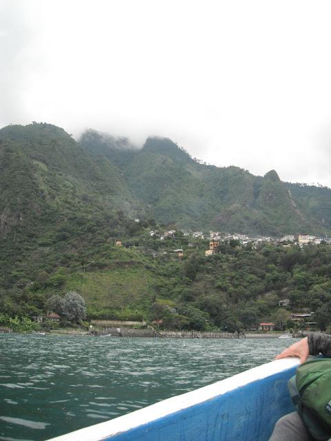 lancha Lake Atitlan Guatemala