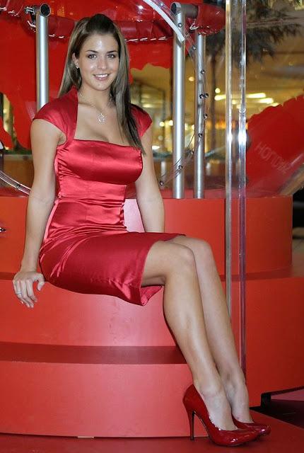 bonito vestido vermelho