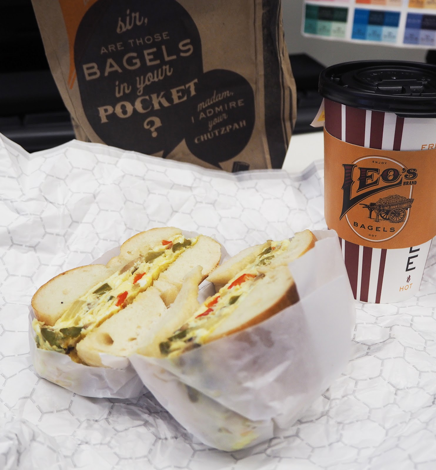 New York Leo's bagels