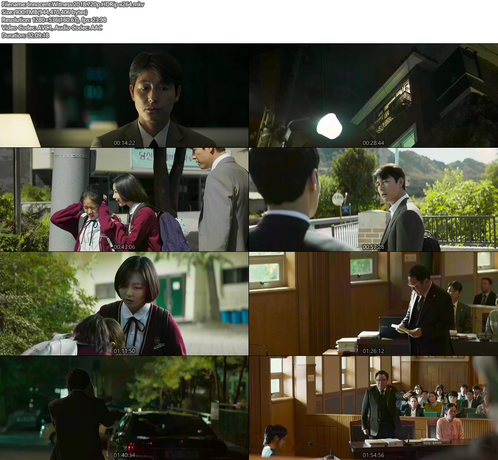 Innocent Witness 2018 720p HDRip x264 | 480p 300MB | 100MB HEVC Screenshot