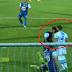 Arema FC Vs Persib - Aksi Brutal Berupa Tandukan Arthur Cunha ke Bojan Malisic Terekam Kamera