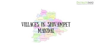 Shivampet Mandal with villages