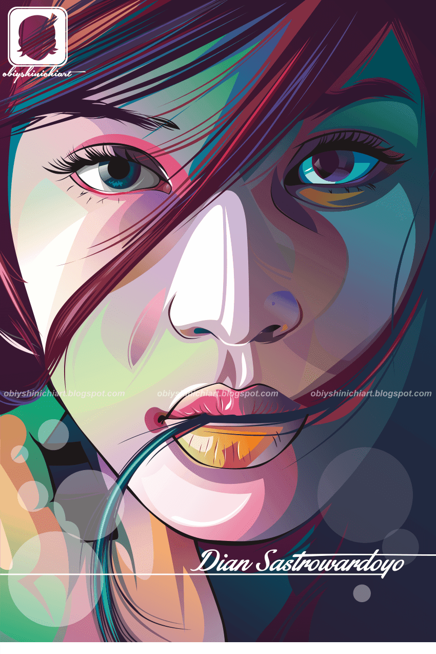 Dian Sastro Vector Rock Art