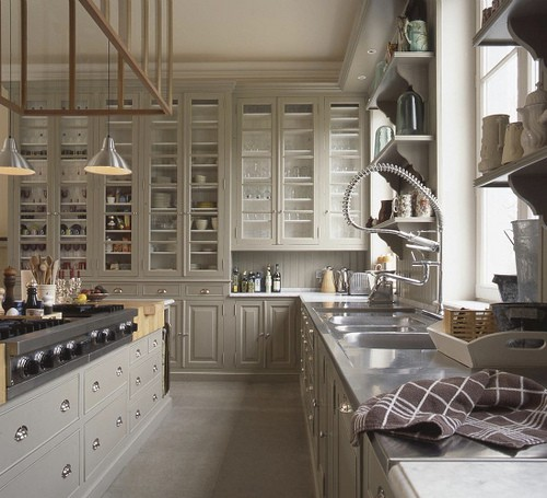 Gorgeous Kitchens: Alamode: Gorgeous Grey Kitchens- Inspiration For My Remodel