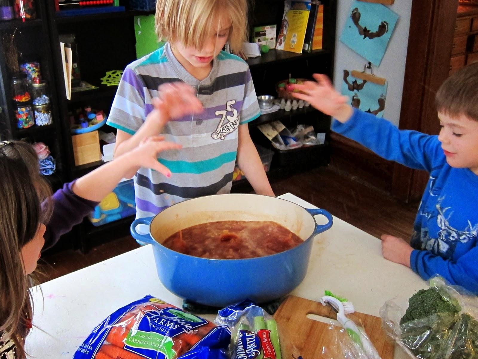 Literature Based Kindergarten Stone Soup