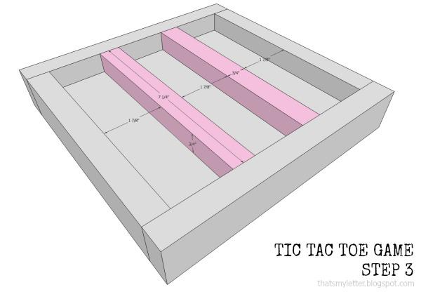 diy tic tac toe game free plans