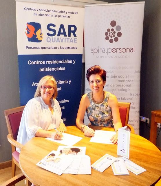 Renovación del Convenio de Colaboración entre Monte Alto SARquavitae y Spiral Personal.Gabinete Social & Coach
