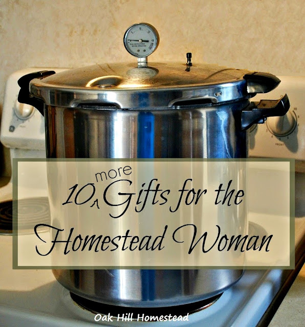 10 more gifts for the homestead woman