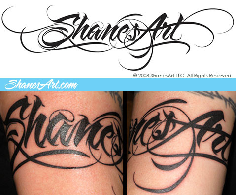 tattoo lettering styles ideal lettering 587
