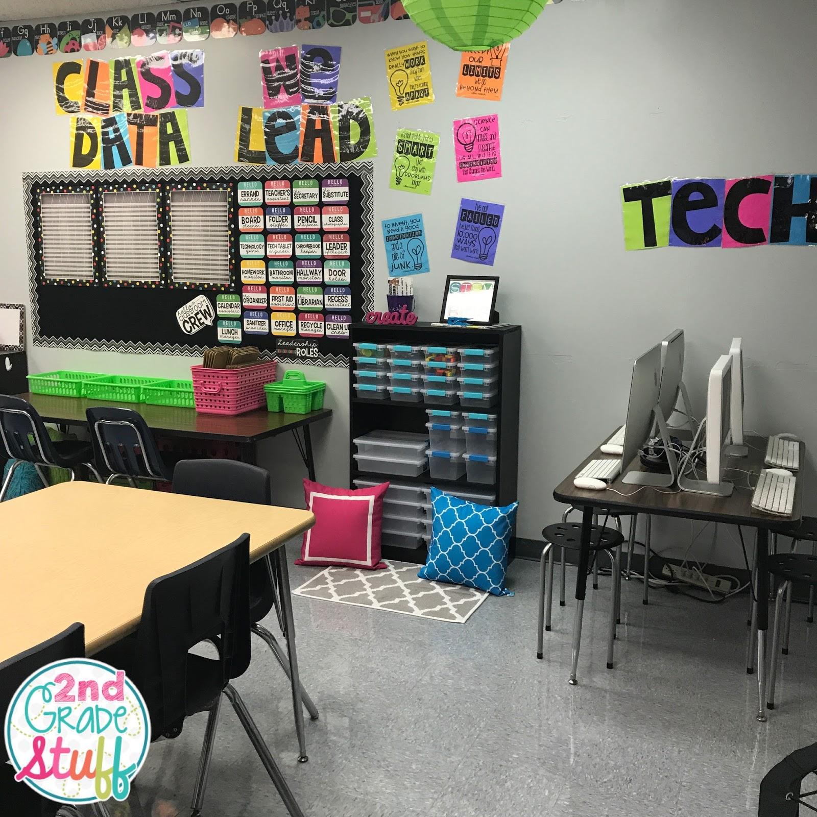 Stem School Design: 2nd Grade Stuff: Classroom Reveal 2017-2018