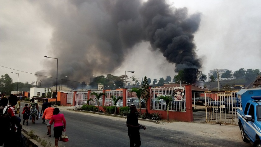 second coming gas explosion magodo lagos