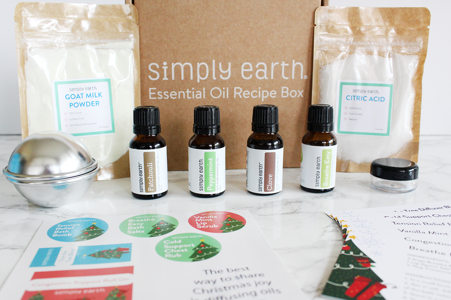 Southern Mom Loves: The Simply Earth Essential Oil Recipe Box ...