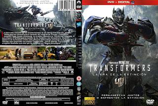 Transformers, la era de la extinción, la pelicula mas taquillera del 2014