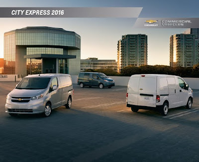Downloadable 2016 Chevrolet City Express Brochure