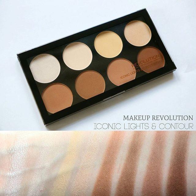 Makeup revolution iconic lights & contour pro