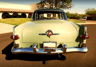 1951 Packard 300 Classic Sedan Rear