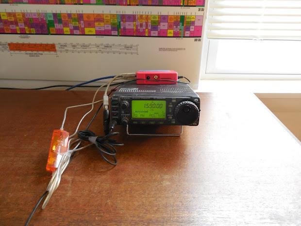 Ham Radio Rig Control - Year of Clean Water