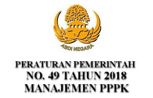 Pemerintah Mensahkan PP 49 Tahun 2018 Tentang Manajemen PPPK