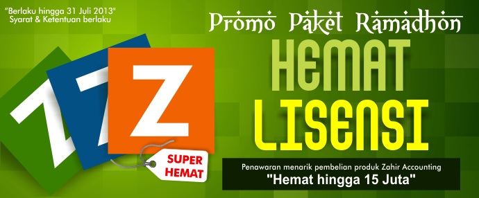 Promo Ramadhan dari Zahir Accounting Software - Zahir ... - photo#29