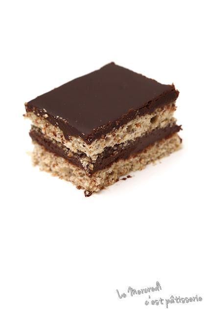 Succès au chocolat et aux noisettes