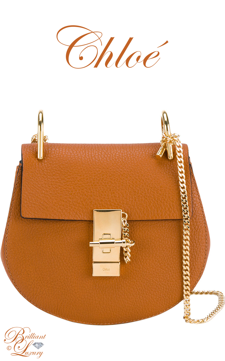 Brilliant Luxury ♦ Chloé Mini Drew Shoulder Bag