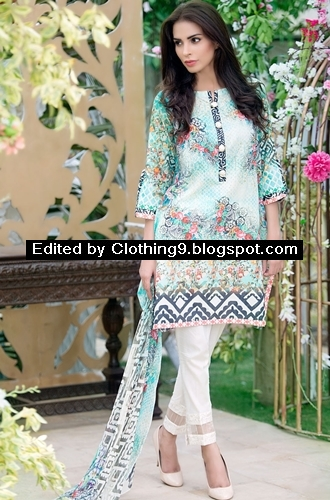 Mausummery Eid Dresses 2015 With Price