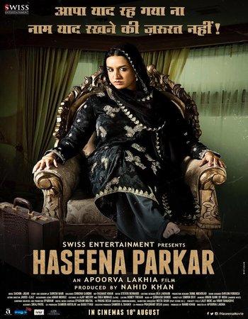 Haseena Parkar (2017) Hindi HDRip 720p