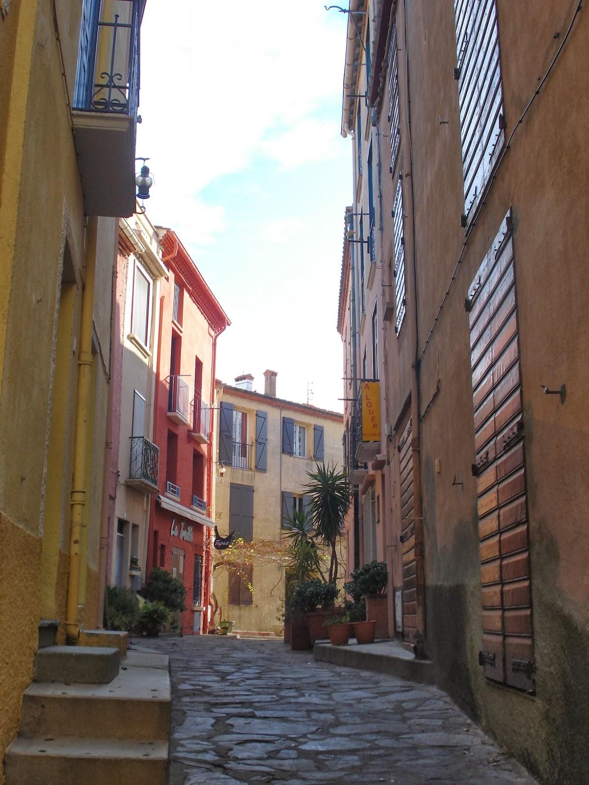 Calles de Colliure (Francia)