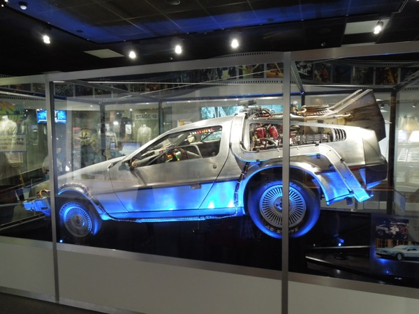 DeLorean Time Machine Back to Future