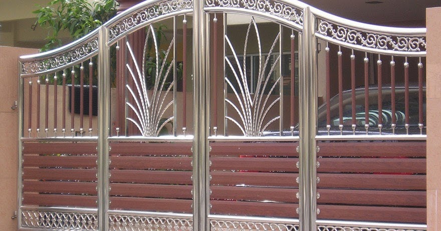 Home Design Gate Ideas: Choice Of Gate Designs For Private House And Garage