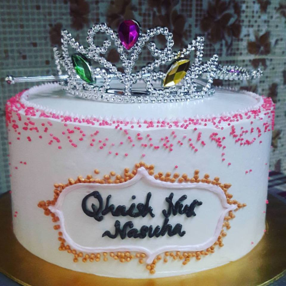 Easybites Cakes 291215 Birthday Cake For Qhaish Nur Nasuha