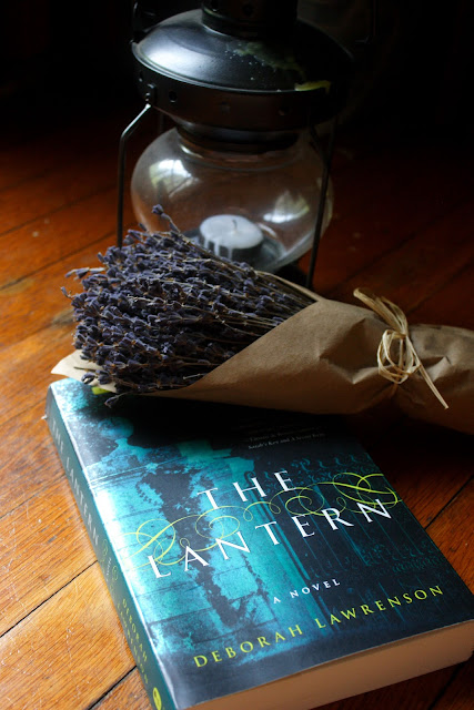 BOOK PHOTO: THE LANTERN by Deborah Lawrenson