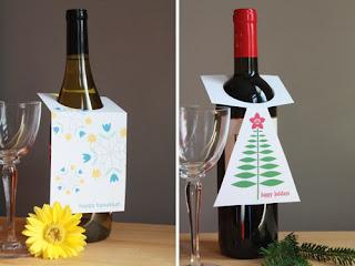 Feel Free To Use This Holiday Wine Tag Printable This Season