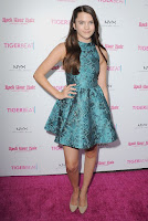 Chloe East best red carpet dresses at TigerBeat Official Teen Choice Awards Pre-Party in Los Angeles