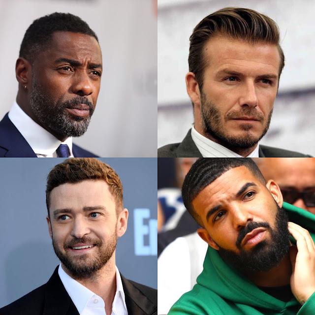 Beard gang, facial hair