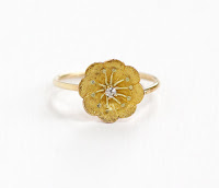 victorian buttercup ring