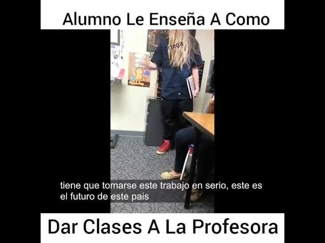 El Club de los Libros Perdidos, UNA LECCIÓN INSPIRADORA: Un estudiante le enseña a dar clases a su profesora, maestro, escuela, lección