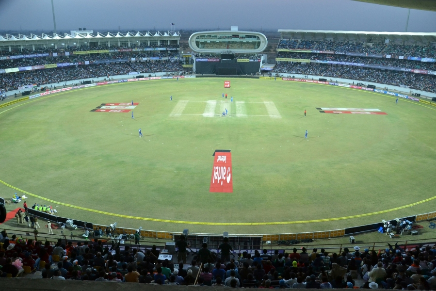 Rajkot S Sca Stadium Becomes Eco Friendly With Solar Power