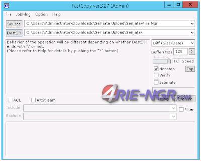 FastCopy 3.27 Final Terbaru Gratis