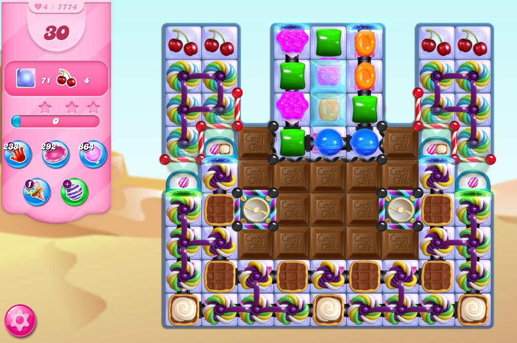 Candy Crush Saga level 7774