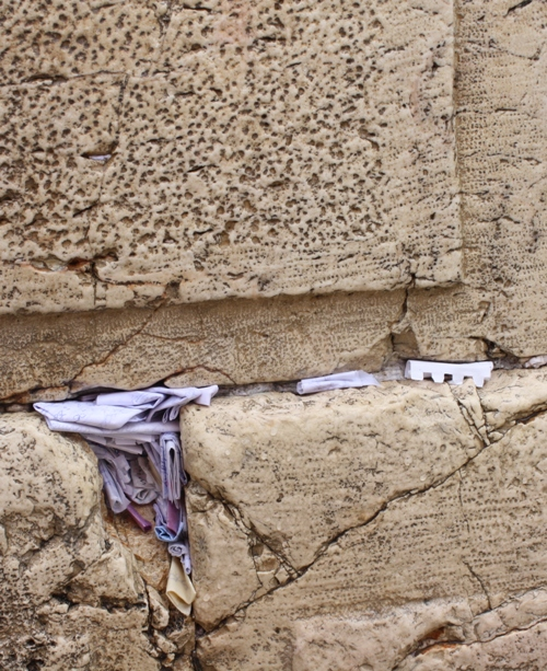 prayers in western wall