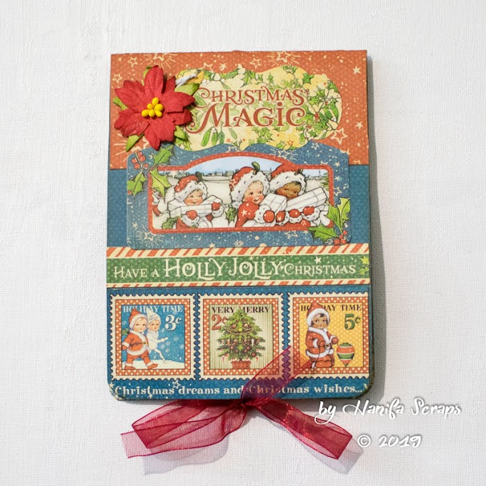 Christmas Magic POP UP 3D Card