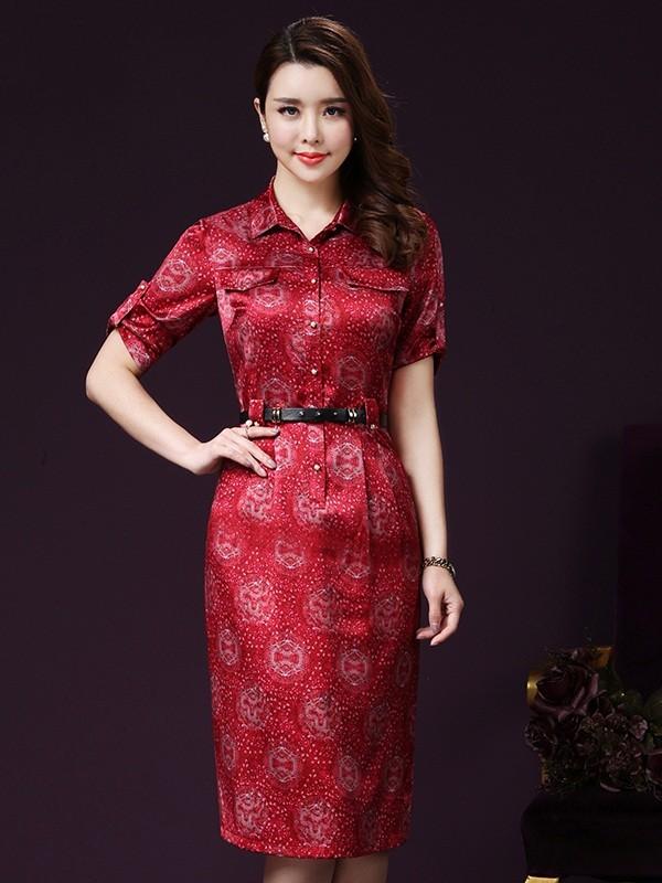 thời trang váy đầm sở hữu một diện mạo mới đầy ấn tượng đó chính là những chiếc váy sơ mi thời thượng.