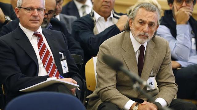 Revelan en España: extesorero del PP recibía dinero de comisiones