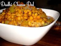 Dudhi Chana Dal Subji