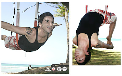 AeroYoga Teacher TRaining, Rafael Martinez