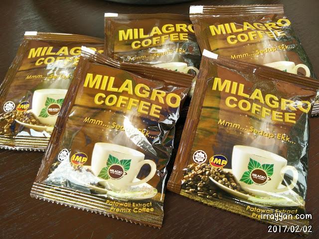 Milagro Coffee Kopi Patawali
